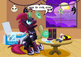 Cosplay Tempest shadow by StewArt501st