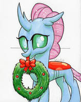 December 5th ocellus Christmas wreath by StewArt501st