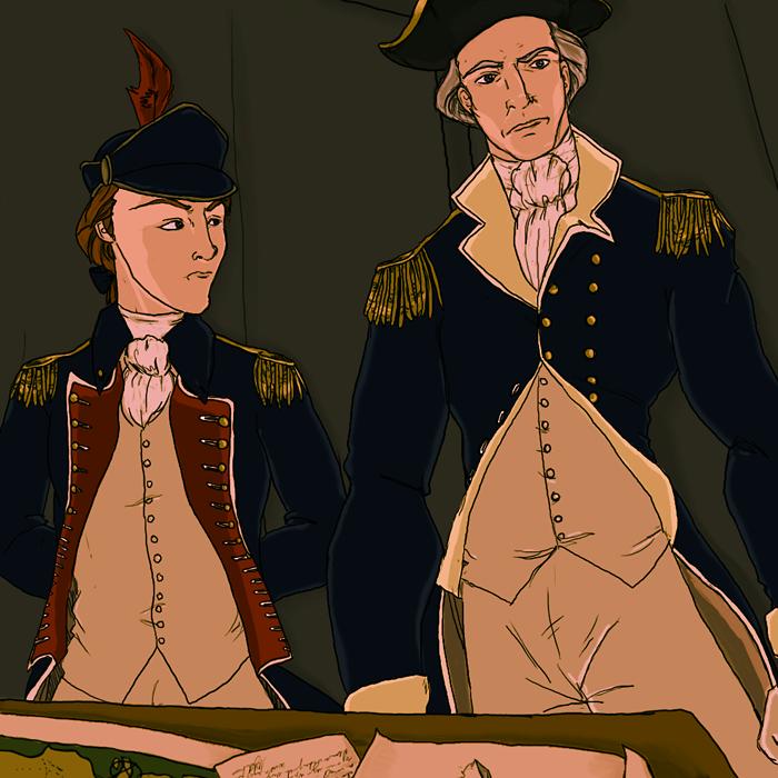 Washington's Aide-de-Camp by Publius-Reporter