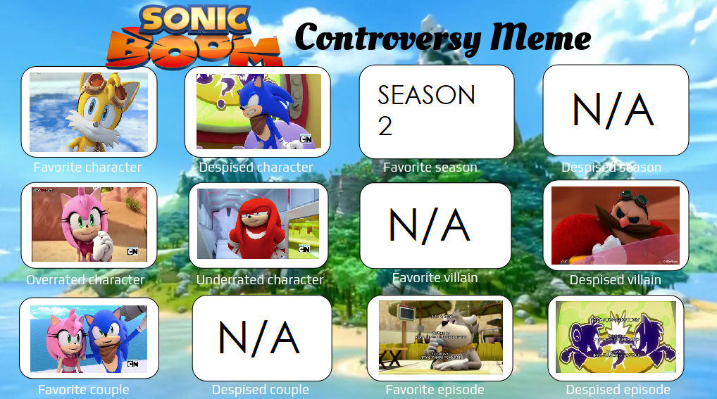 Sonic The Hedgehog Controversy Meme Boom Ver By Diamondclean21 On Deviantart