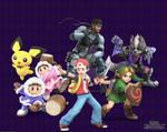 Super Smash Bros. - Reunited Roster