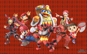 Super Smash Bros. - Ravishing Red by DiamondClean21