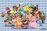 Super Smash Bros. - Hats Galore