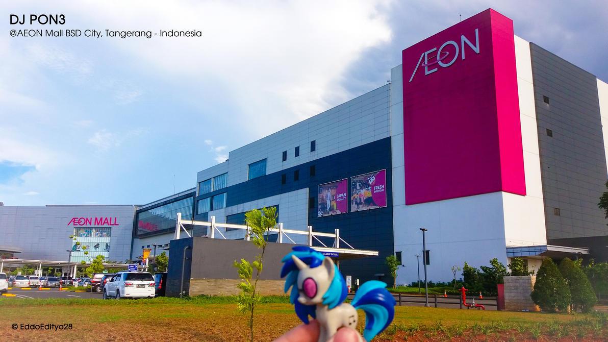 At The AEON Mall by EddoEditya28