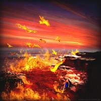 An Ocean of Fire