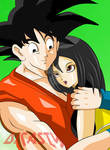 Goku y su hermana reencuentro