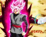 Black Goku SSSJ dios. vs Wiss