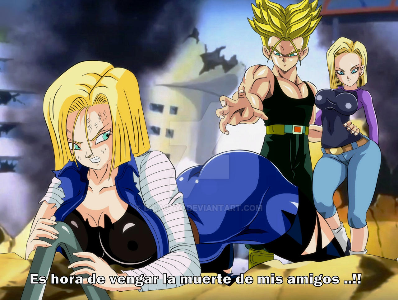 Ayes android 18 and trunks hentai pic the name
