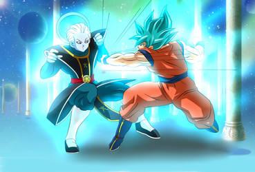 Pro Daishinkan sama vs Goku by dicasty1
