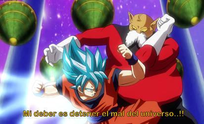 Goku vs Toppo by dicasty1