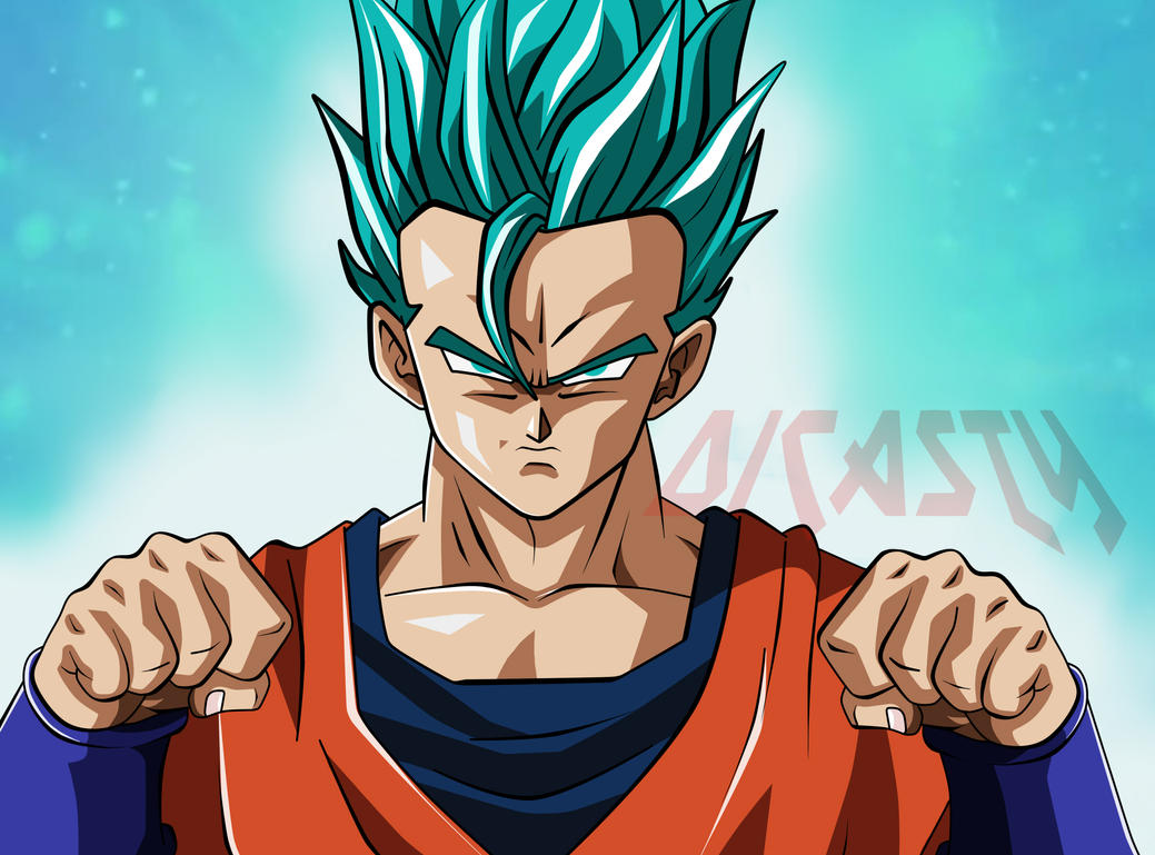 Gohan Super Saiyan Dios Azul By Dicasty1 On DeviantArt