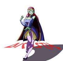 Caway guerrera Universo Cuatro by dicasty1