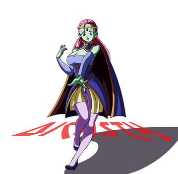 Caway guerrera Universo Cuatro