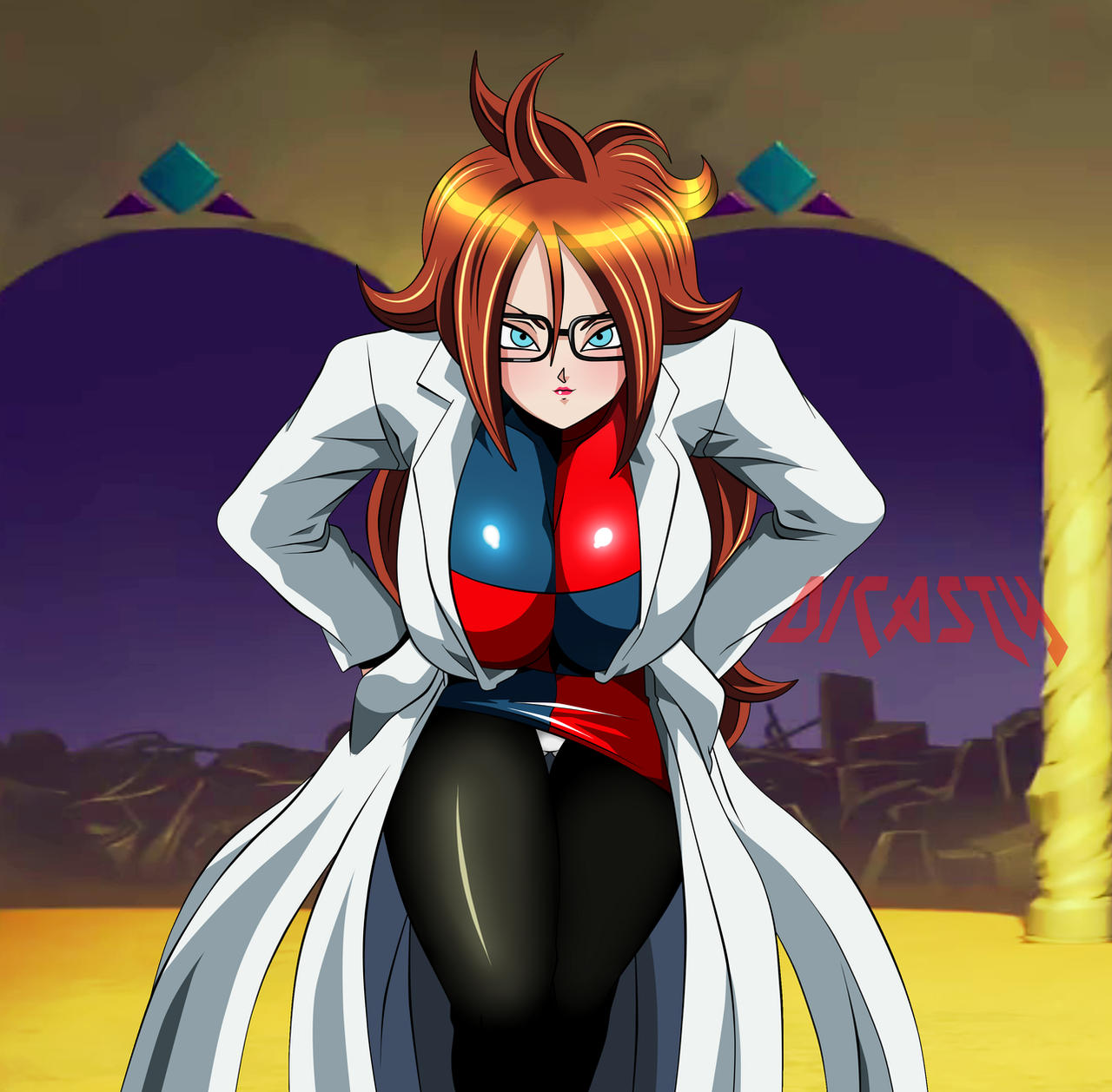 Dragon Ball Android 21: Androide 21 Cute By Dicasty1 On DeviantArt