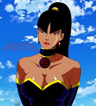 SuperWoman Parte maligna de Wonderwoman by dicasty1