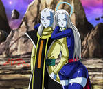 Angel Sour y su Madre Mikoshin sama Posando