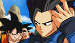 Goku vs Saiyajin Dragon ball Legends