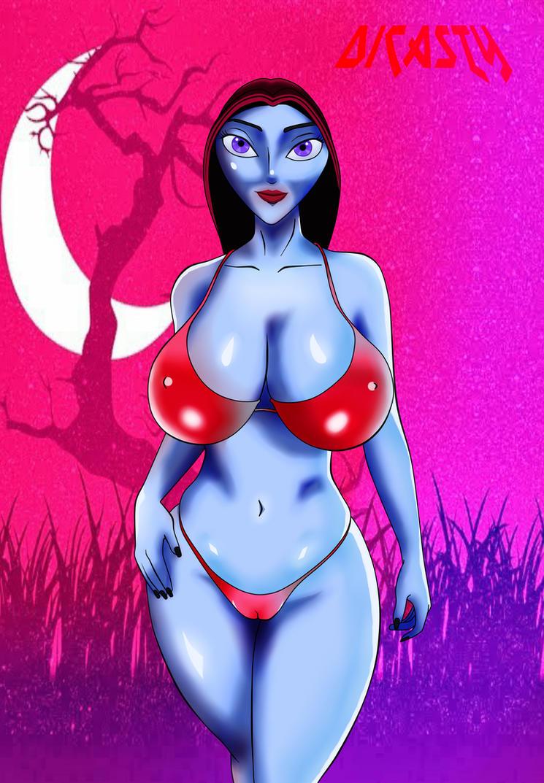 Vampirela nuevo estilo de pintado by dicasty1