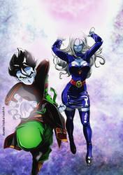 Dios 4to Universo DIRIO y Mikoshin sama por Unmei by dicasty1
