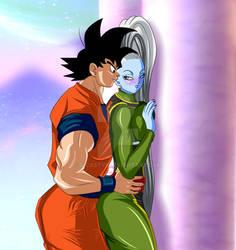 Goku Y Vados 8