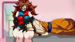 21 y Goku