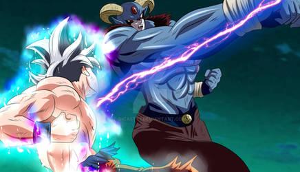Moro vs Goku UI