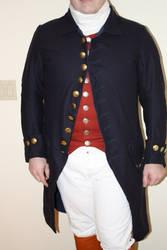 1770s civilian frock coat 4 by FiddlingRanger