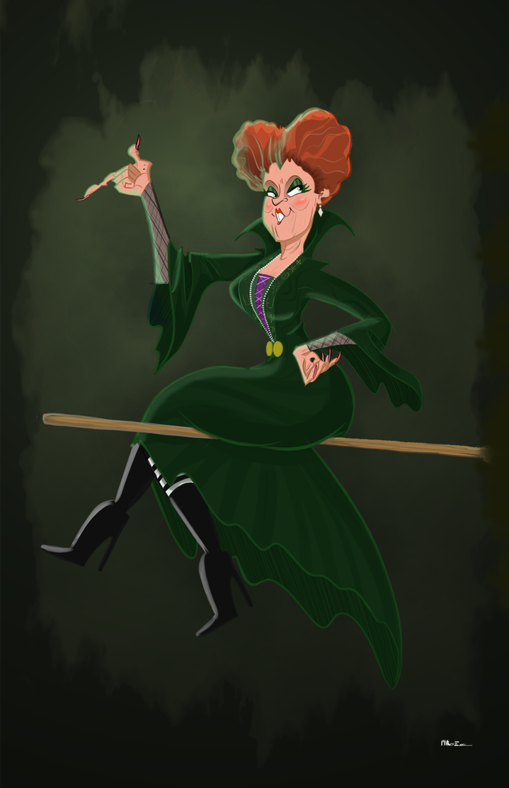 Winifred Sanderson by MiketheMike