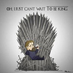 Oh I just can't wait to be King