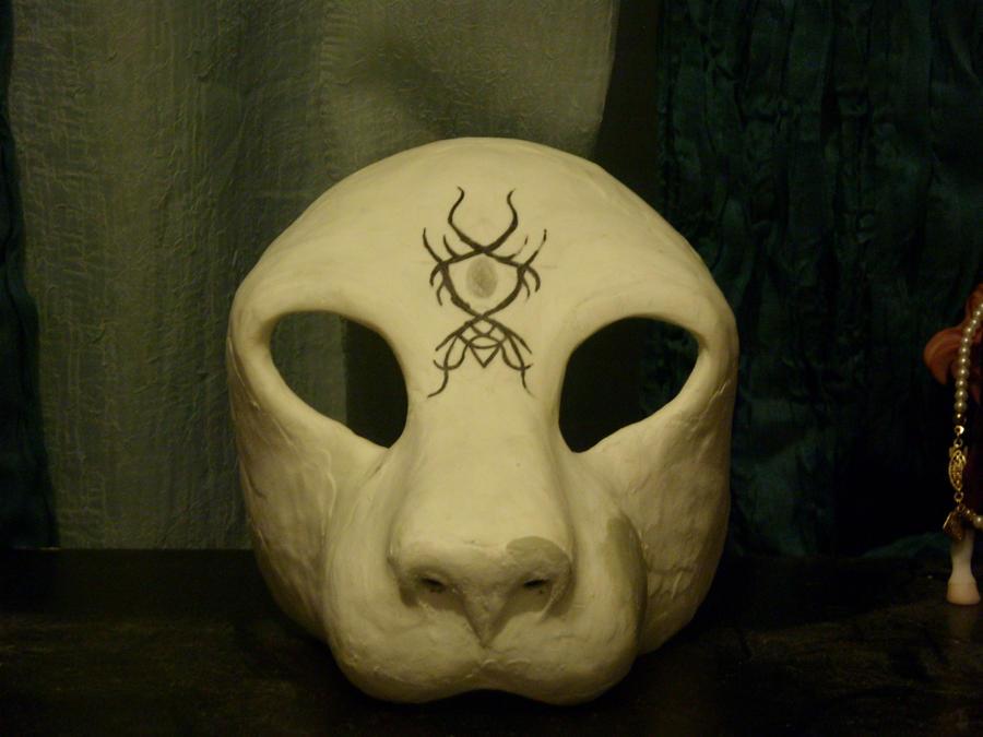 Feline Mask Blank I by Feyreisa