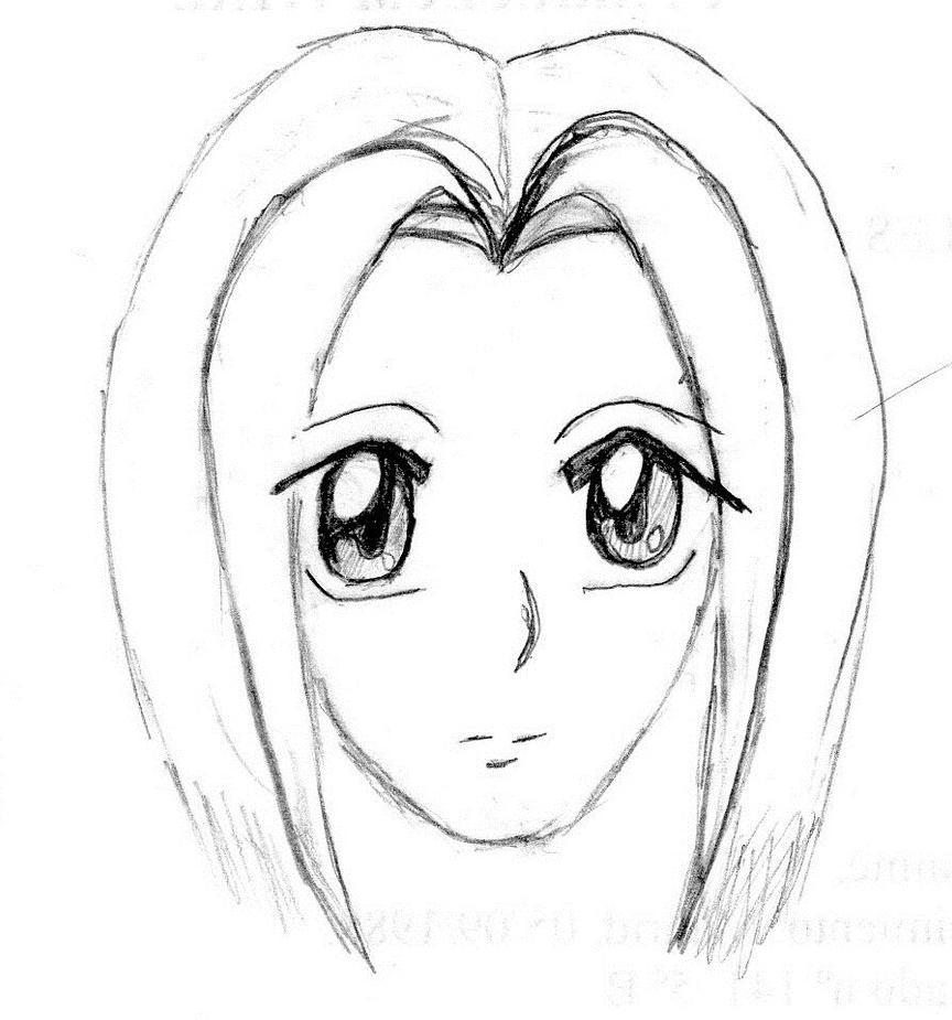Manga head by Diosadelabismo-Ninde on DeviantArt: diosadelabismo-ninde.deviantart.com/art/Manga-head-154778079