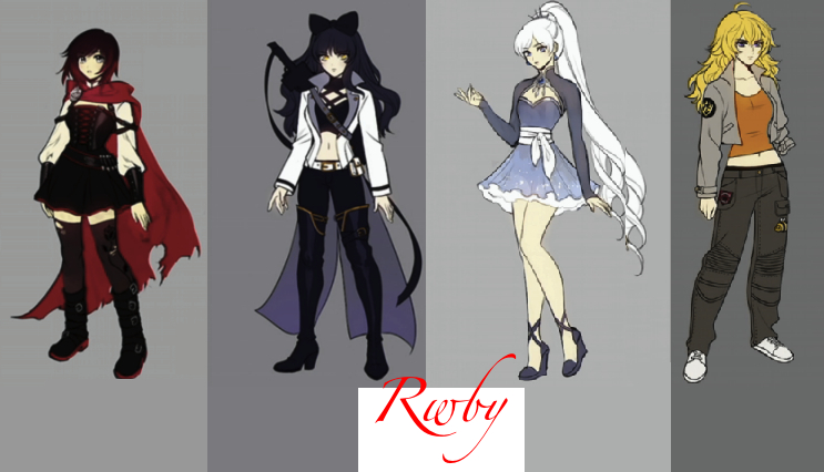 Rwby volume 4 character designs by Freshman91 on DeviantArt