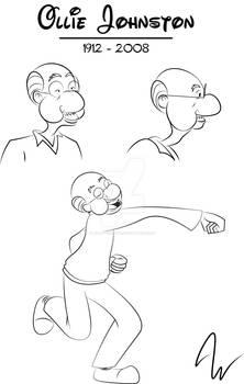 Ollie Johsnton sketches