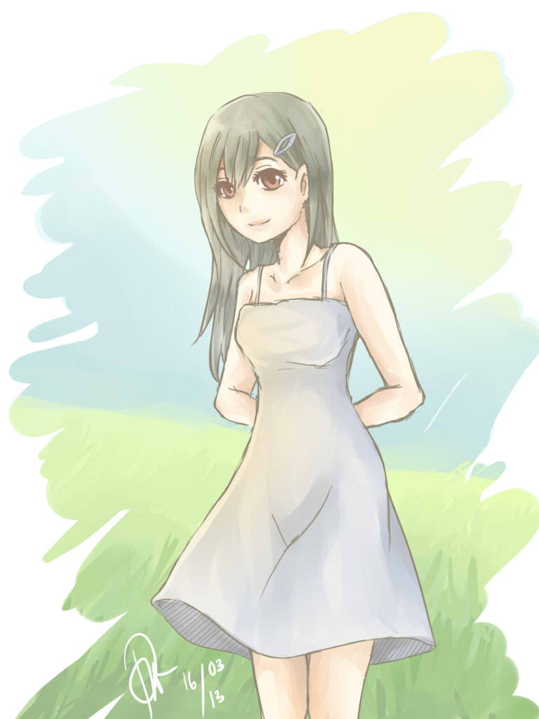 Sunny in the Grassfield by pastanzu