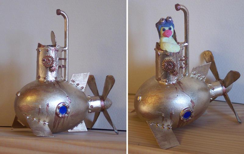 Steampunk Submarine Easter Egg by Pietrach