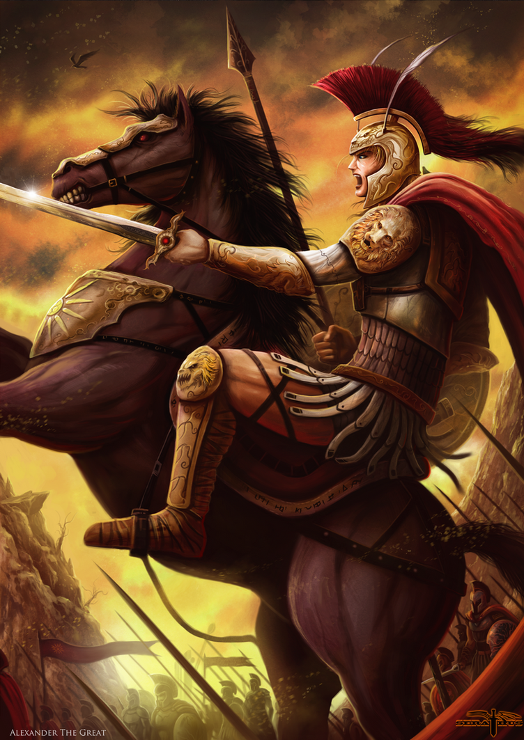 Alexander the great by serathus on deviantart alexander the great by serathus kristyandbryce Choice Image