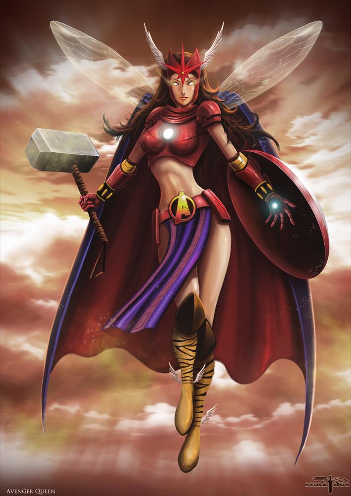 Avenger Queen by Serathus