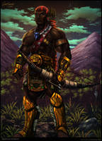 Sudanese Warrior by Serathus