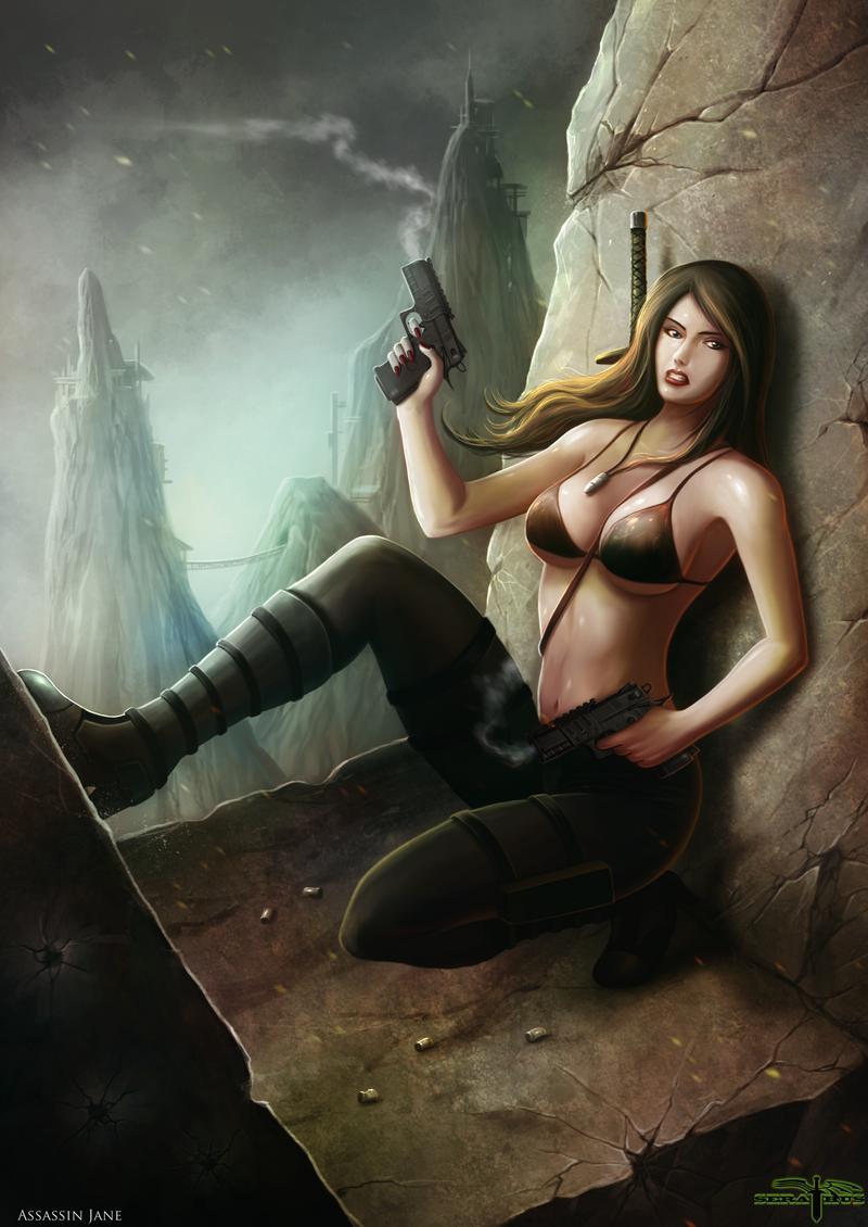 Assasin Jane by Serathus on DeviantArt