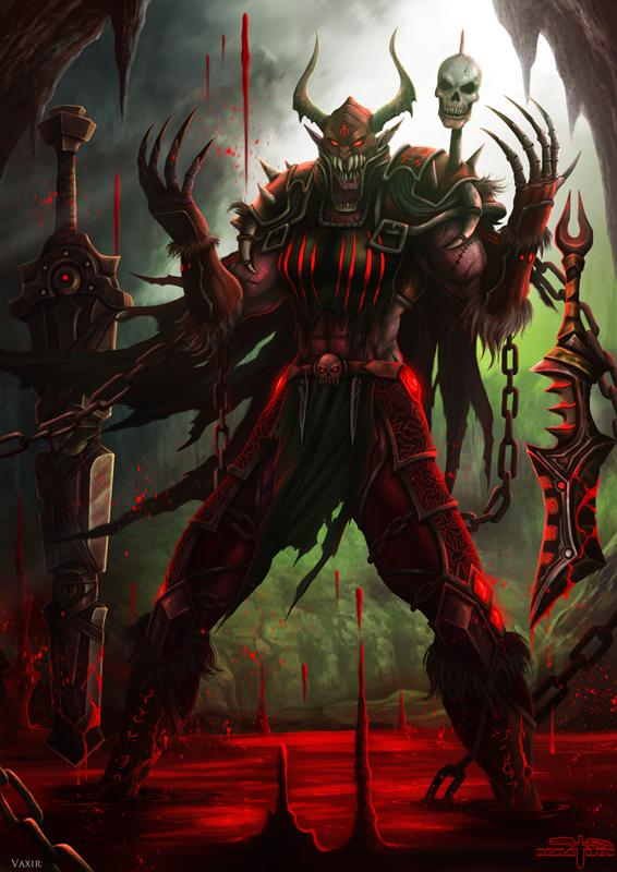Blood Master Vaxir by Serathus