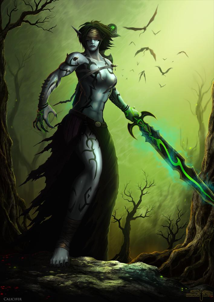 Calicifer 'Wrathbane' by Serathus