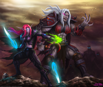 World of Warcraft: Kerienne and Rickarla