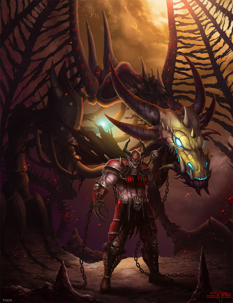 Vaxir and Bloodmaw by Serathus