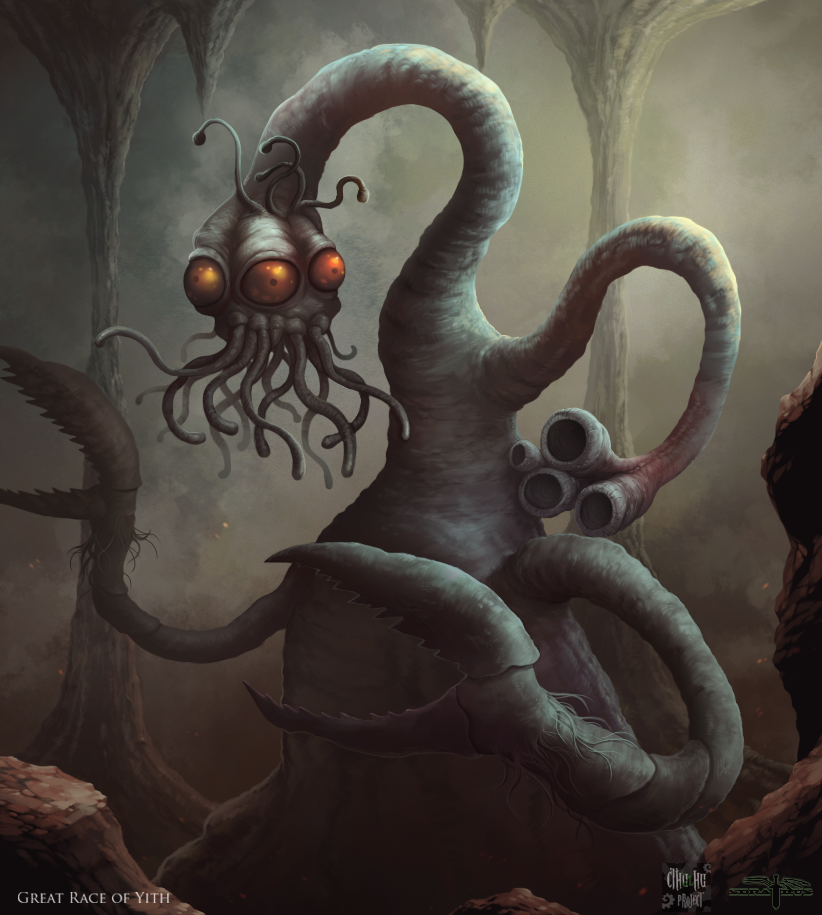 Cthulhu Project - Great Race of Yith