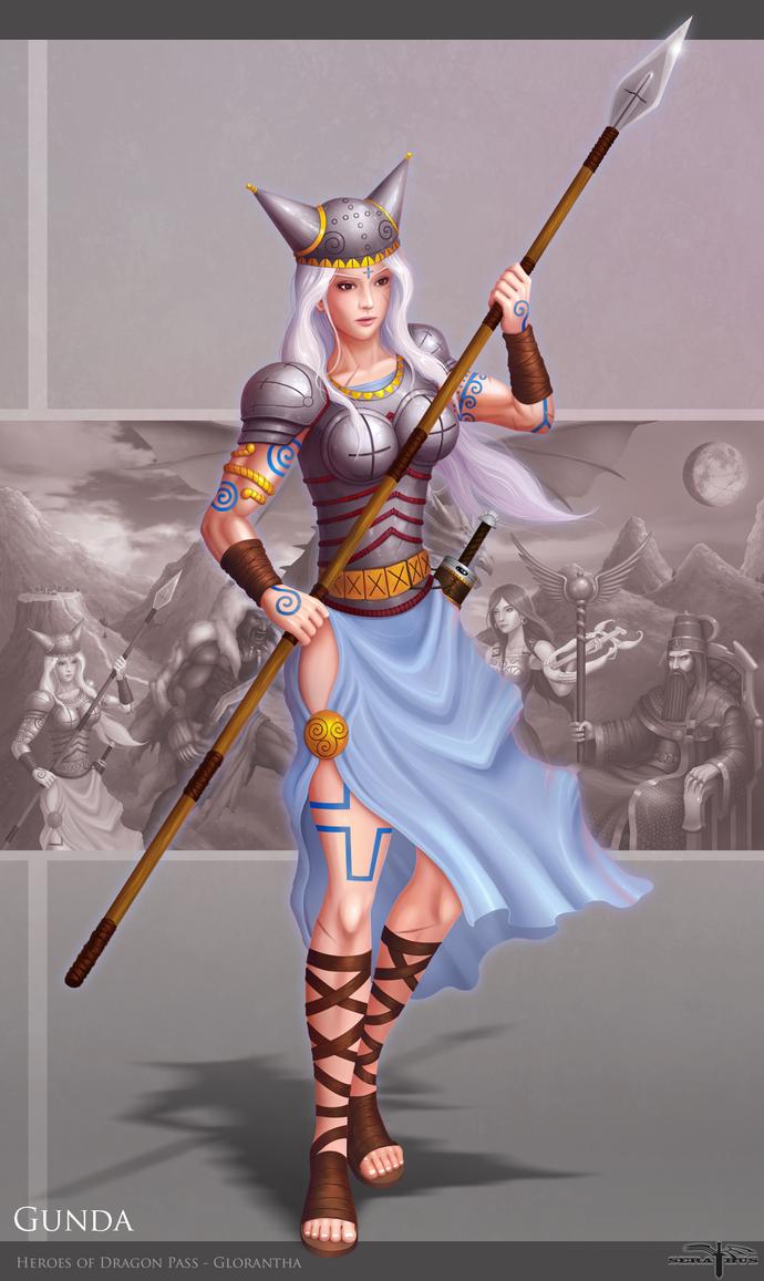 Gunda - Heroes of Dragon Pass by Serathus