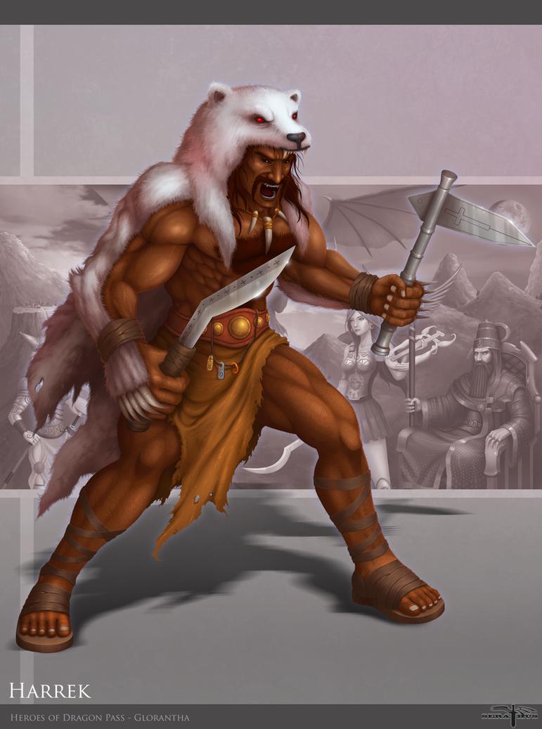 Harrek - Heroes of Dragon Pass by Serathus