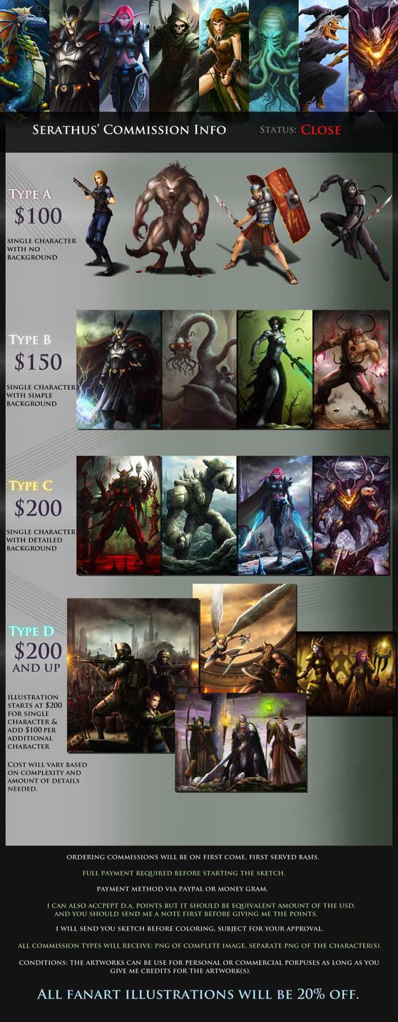 Serathus' Commission Info