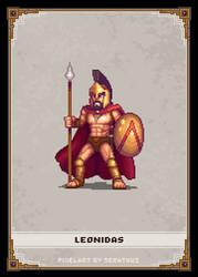 Leonidas by Serathus