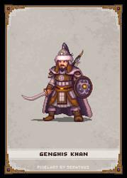 Genghis Khan by Serathus