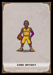 Kobe Bryant by Serathus